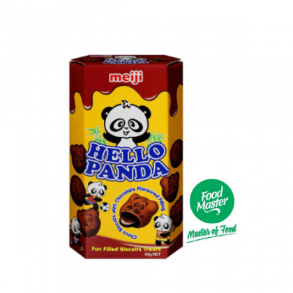 Hello Panda cocoa biscuits with chocolate flavoured filling 43g
