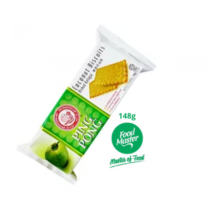 Cap Ping Pong Coconut Biscuit 148g ( Free Premium Packing )