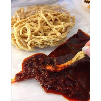 (Must Try!)Home Made Traditional Mee Siput Muar with Special made Sambal Chili 100g+/- (Free Premium Packing)
