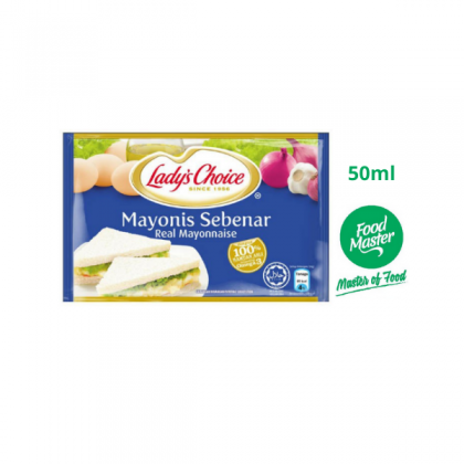 Lady's Choice Real Mayonnaise 50ml ( Free Premium Packing )